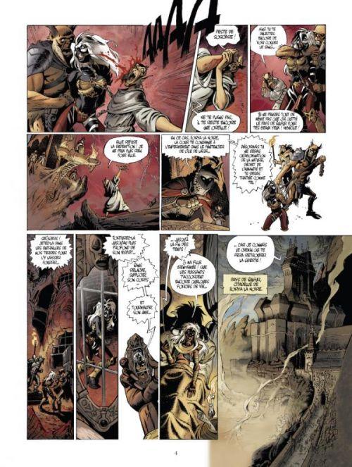 Le Monde de l'épée de cristal T1 : Zorya la noire (0), bd chez Vents d'Ouest de Douyé, Lai, Checcaglini