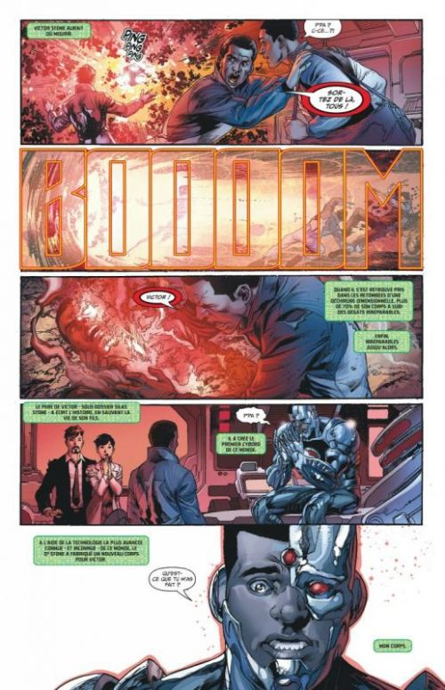 Justice League – New 52, T7 : Le règne du mal - 2ème partie (0), comics chez Urban Comics de Johns, Finch, Mahnke, Reis, Reis, Morey, Eltaeb, Oback, Aviña