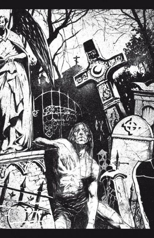 The Crow – Midnight legends, T2 : Temps mort (0), comics chez Delcourt de O'Barr, Wagner, Maleev, Hotz