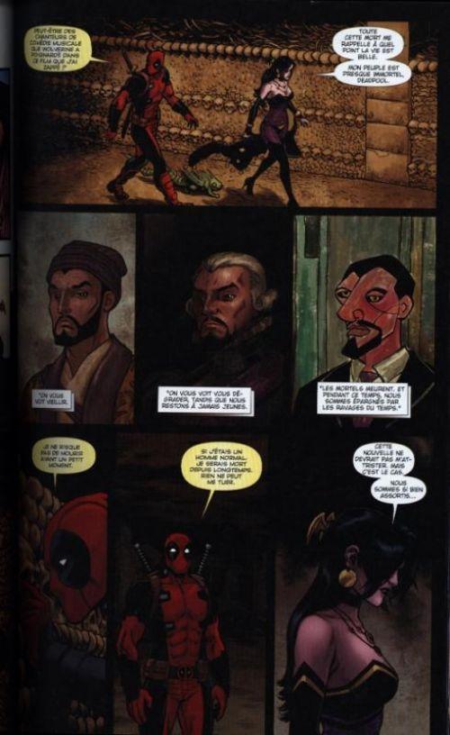 Deadpool (2013) : Les noces de Dracula (0), comics chez Panini Comics de Duggan, Brown, Posehn, Koblish, Randolph, Campbell, Charalampidis