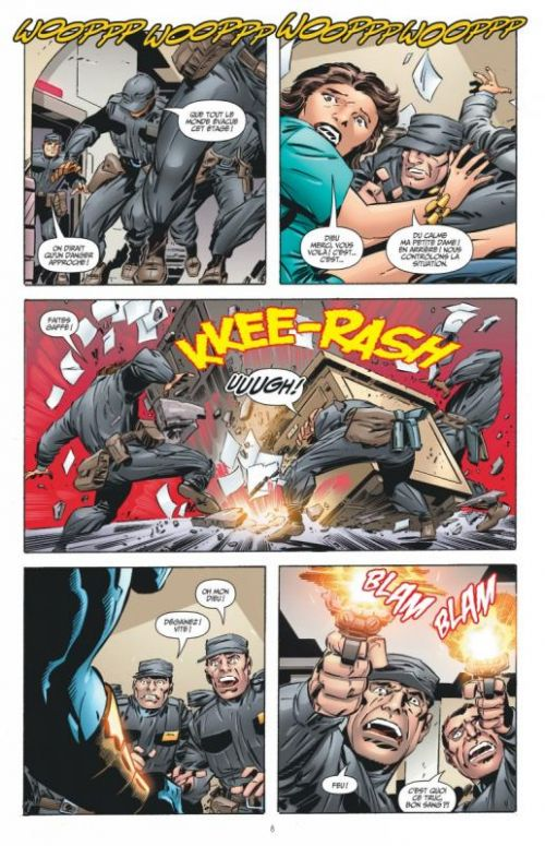 OMAC - L'arme Ultime, comics chez Urban Comics de DiDio, Giffen, Koblish, Hi-fi colour