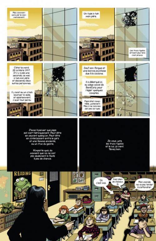 Sex Criminals T1 : Un coup tordu (0), comics chez Glénat de Fraction, Zdarsky, Sebela, Kinzie
