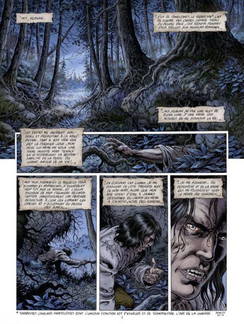 Le Prince de la nuit T7 : La Première mort (0), bd chez Glénat de Swolfs, Marquebreucq