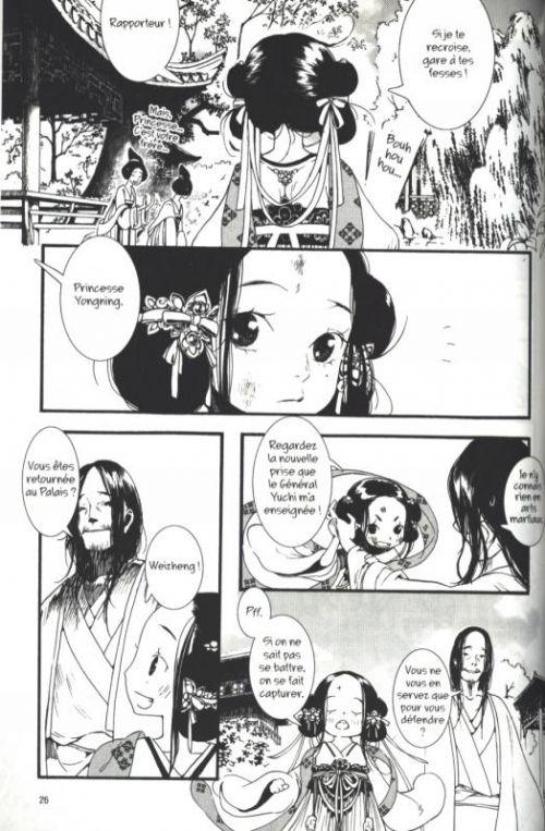 La Princesse vagabonde T1, manga chez Urban China de Da