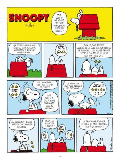 Snoopy et le petit monde des Peanuts T4, comics chez Delcourt de Schultz, Svart