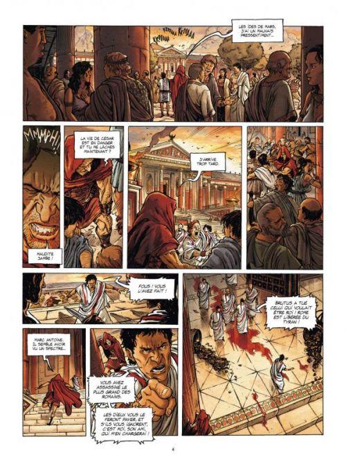 L'Homme de l'année T8 : -44 : L'homme qui voulut venger César (0), bd chez Delcourt de Latour, Bennato, Nucera, Blanchard, Manchu