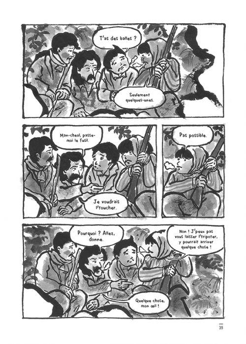 Jiseul, bd chez Sarbacane de Keum Suk