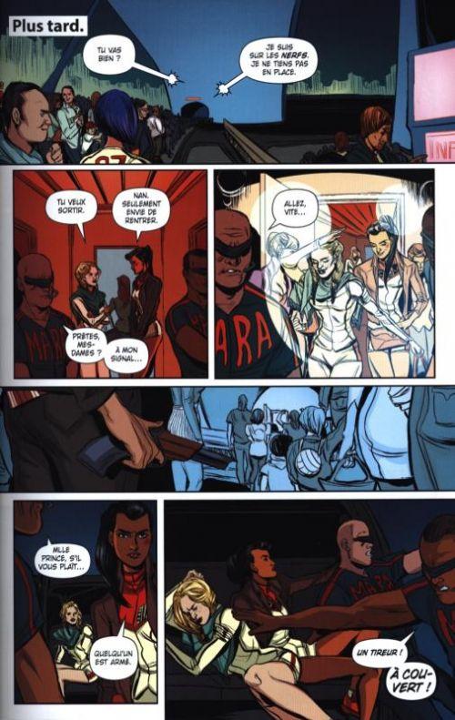 Mara : Plus qu'humaine (0), comics chez Panini Comics de Wood, Doyle, Bellaire