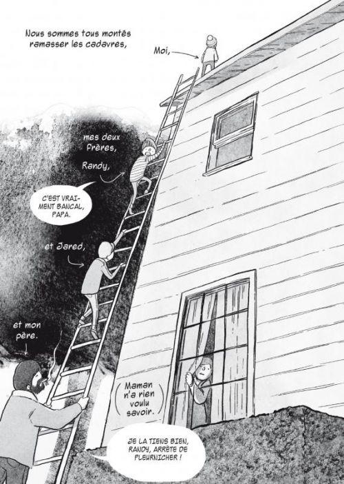 Je n'ai rien oublié, comics chez Delcourt de Andrews