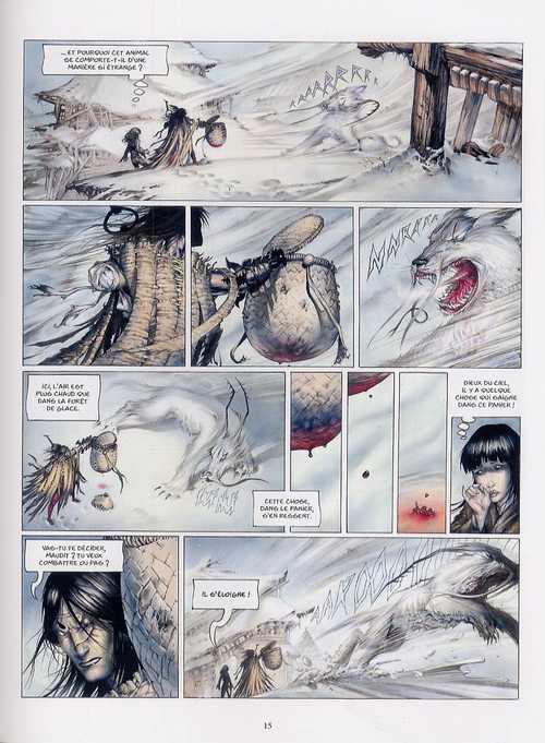 La légende des nuées écarlates T1 : La ville qui parle au ciel (0), bd chez Les Humanoïdes Associés de Tenuta