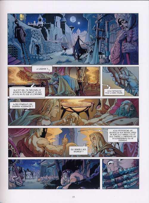 Soltrois T1 : Dans les rêves de l'arbre-roi (0), bd chez Les Humanoïdes Associés de Lefranc, de Luca, Jacquemoire