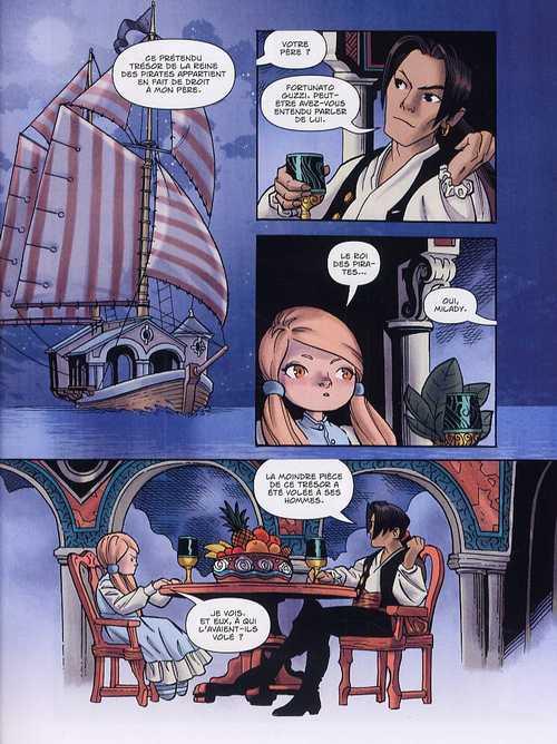 Polly et les pirates T3 : Le trésor du roi (0), comics chez Les Humanoïdes Associés de Naifeh, Ralenti
