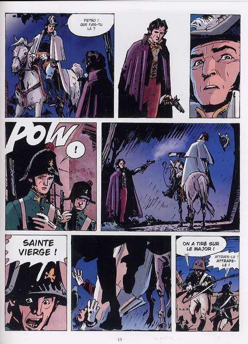 Le maître rouge T1 : L'ange du château (0), bd chez Les Humanoïdes Associés de Artibani, Milazzo, Merlet