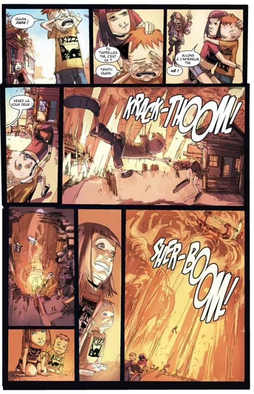 Strange girl T1 : L'enfer de la jeunesse (0), comics chez Bamboo de Remender, Nguyen, Comtois