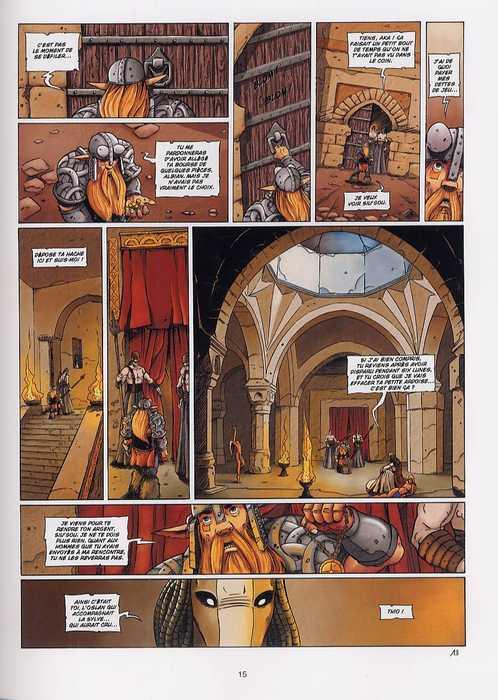 Les brumes d'Asceltis – cycle 1, T3 : Le roi Akorenn (0), bd chez Soleil de Jarry, Istin