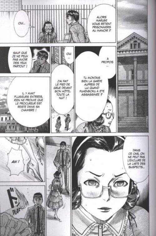 La tour fantôme T6, manga chez Glénat de Nogizaka