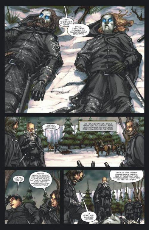 A Game of thrones – Saison 1, T5, comics chez Dargaud de Abraham, Martin, Patterson, Nunes