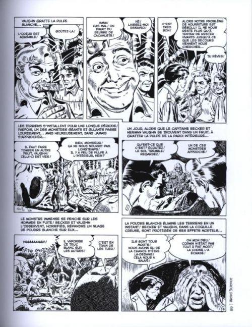 Weird Science T2, comics chez Akileos de Feldstein, Gaines, Elder, Orlando, Olesen, Williamson, Wood, Check, Kamen, Vince, Stan