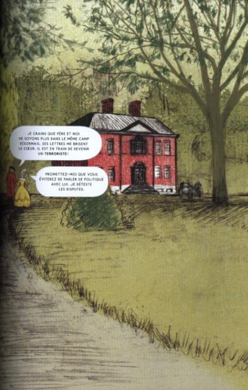Ici, comics chez Gallimard de McGuire
