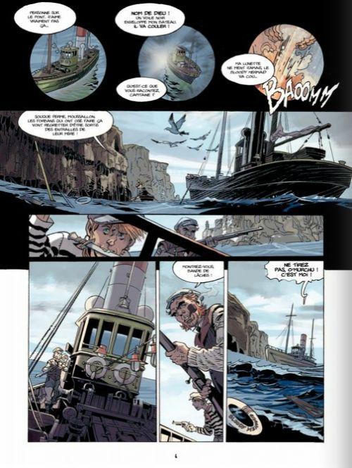 SOS Lusitania T3 : La memoire des noyes (0), bd chez Bamboo de Manini