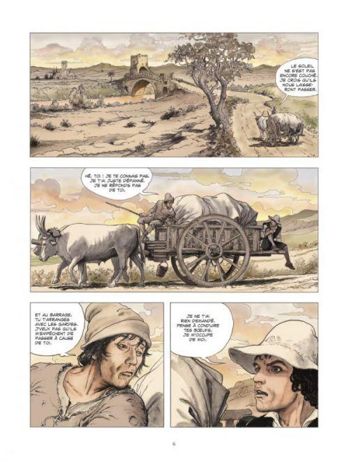 Le Caravage : La palette et l'épée (0), bd chez Glénat de Manara, Manara
