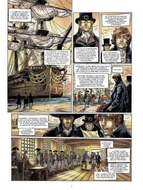 Surcouf T3 : Le roi des corsaires (0), bd chez Glénat de Surcouf, Delalande, Michel, Mad5 Factory