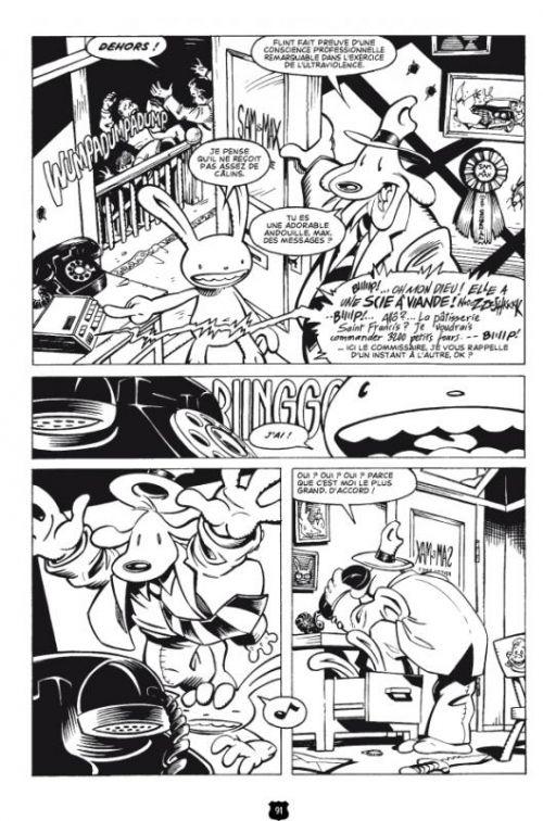 Sam & Max : Police freelance (0), comics chez Onapratut de Purcell