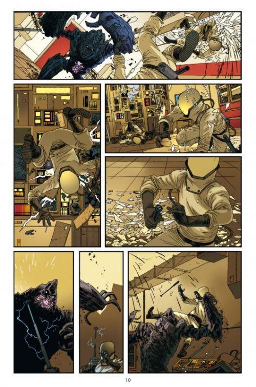 Nowhere Men T1 : Un destin pire que la mort (0), comics chez Delcourt de Stephenson, Bellegarde, Bellaire