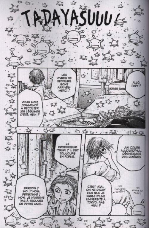 Moyasimon T3, manga chez Glénat de Ishikawa