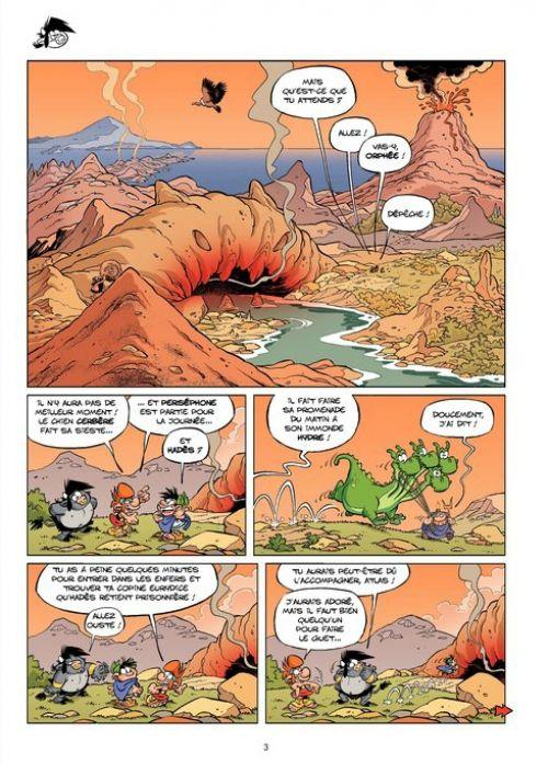 Les Petits mythos T5 : Détente aux enfers (0), bd chez Bamboo de Cazenove, Larbier, Amouriq, Mirabelle