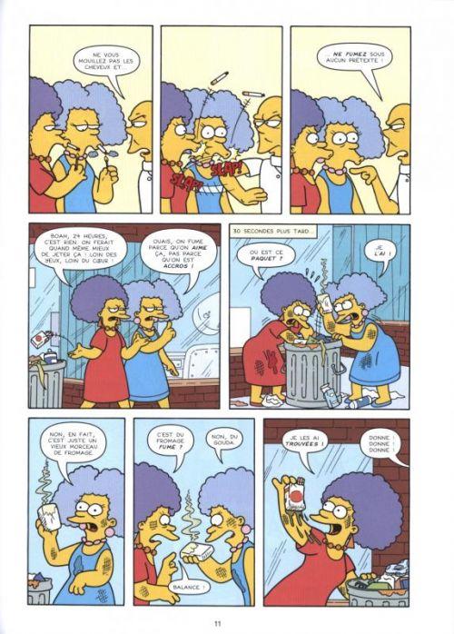 Les Simpson T27 : Renversant (0), comics chez Jungle de Kress, Ortiz, Villanueva, Groening
