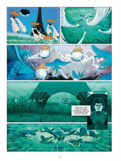 La peur géante T2 : L'ennemi des profondeurs (0), bd chez Ankama de Lapière, Reynes, Colombo, Richard, Landa