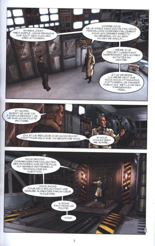 Attoneen T2 : Projet Lummox (0), comics chez Delcourt de Boisserie, Brangier, Maz