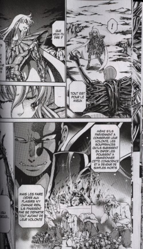Saint Seiya - The lost canvas chronicles  T8, manga chez Kurokawa de Kurumada, Teshirogi