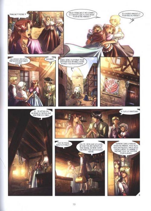 La Rose écarlate - Missions – cycle 2 : La dame en rouge, T3, bd chez Delcourt de Lyfoung, Jenny, Fleur, Ogaki