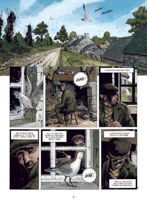 Entre terre et mer T2 : Le Vieux Terre-Neuva (0), bd chez Soleil de Bresson, Le Saëc, Gonzalbo