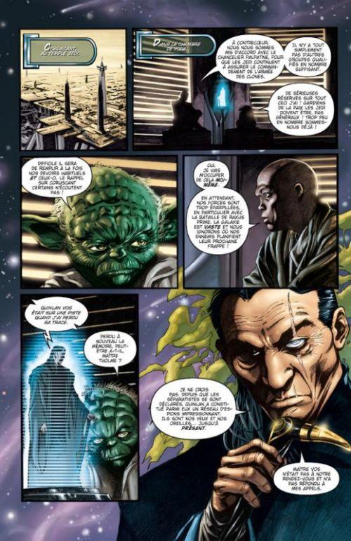 Star Wars - Clone Wars T1 : La défense de Kamino (0), comics chez Delcourt de Blackman, Ostrander, Allie, Duursema, Giorello, Thompson, Wayne, Benjamin