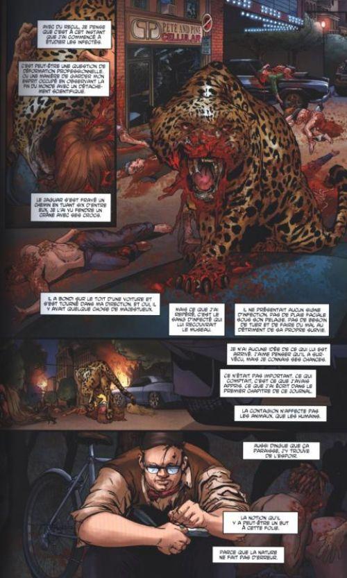 Crossed - Terres maudites T4 : Collabo / Point de rupture (0), comics chez Panini Comics de Lapham, Gage, Zanier, Ruiz, Digikore studio, Burrows