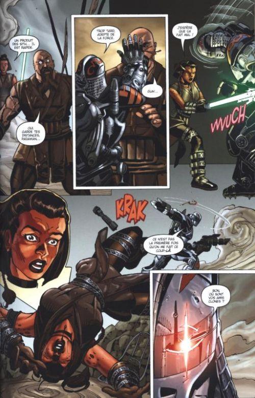 Star Wars - Clone Wars T2 : Victoires et sacrifices (0), comics chez Delcourt de Blackman, Ostrander, Ching, Giorello, Duursema, Wayne