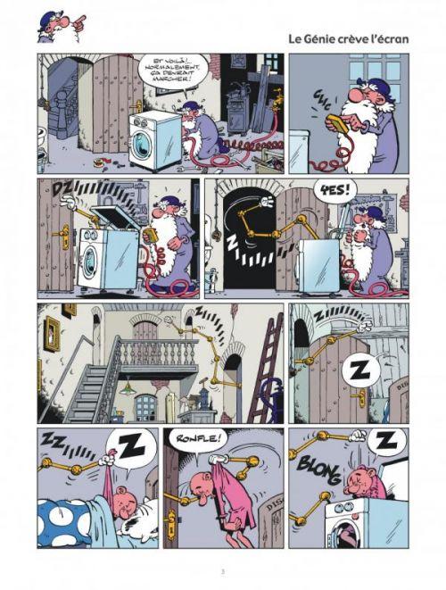 Léonard T46 : Le génie crève l'écran (0), bd chez Le Lombard de de Groot, Turk, Kael
