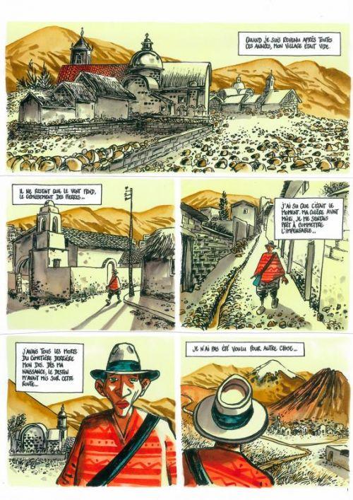 Le Monde du dessous, bd chez Casterman de Sibran, Tronchet