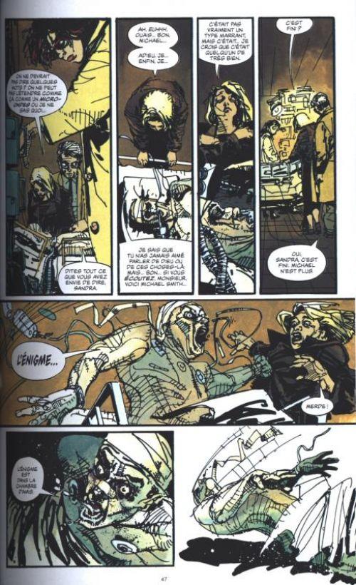 Enigma, comics chez Urban Comics de Milligan, Fegredo, Van Valkenburg