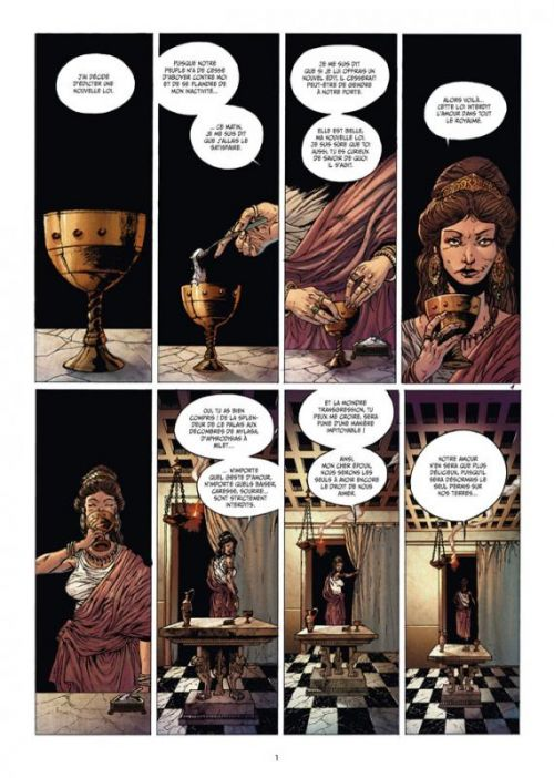 Les 7 merveilles T6 : Le Mausolée d'Halicarnasse (0), bd chez Delcourt de Blengino, Marty, Bassini