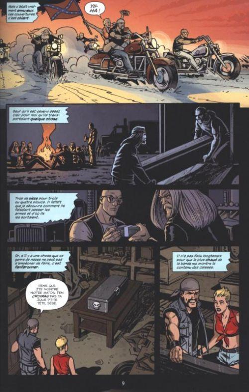Ghosted T3 : Désir de mort (0), comics chez Delcourt de Williamson, Sudzuka, Gianfelice, Mrva, Panosian