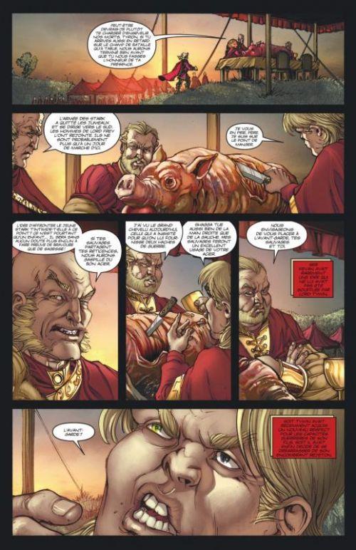 A Game of thrones T6, comics chez Dargaud de Abraham, Martin, Patterson, Nunes
