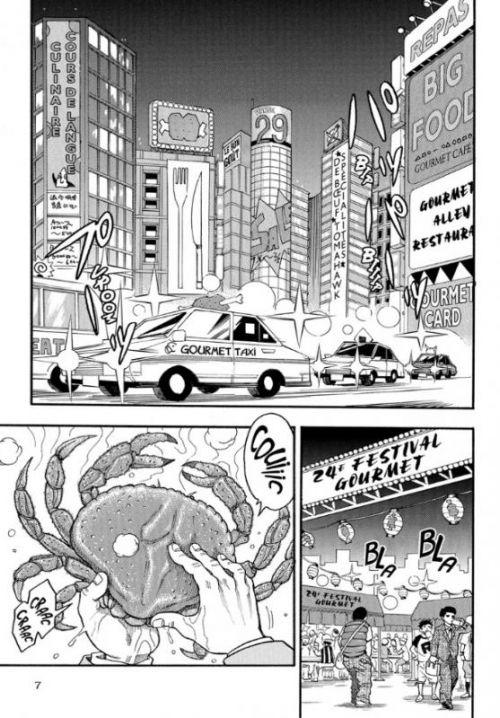 Toriko T21, manga chez Kazé manga de Shimabukuro