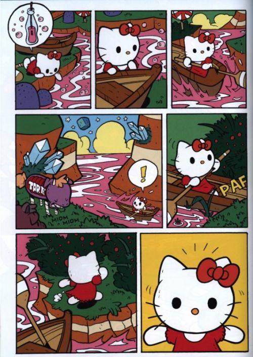 Hello Kitty T2 : A vos papilles ! (0), manga chez Kazé manga de McGinty, Chabot, Molongo, Buscema