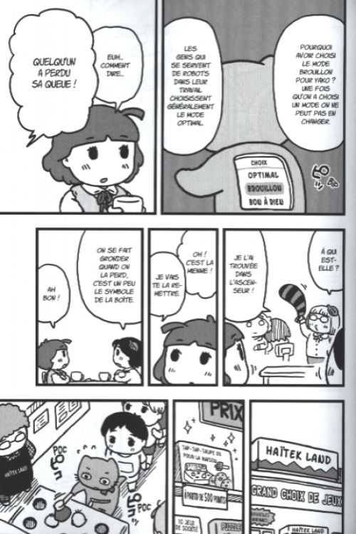 Yako et Poko  T1, manga chez Komikku éditions de Oshimi