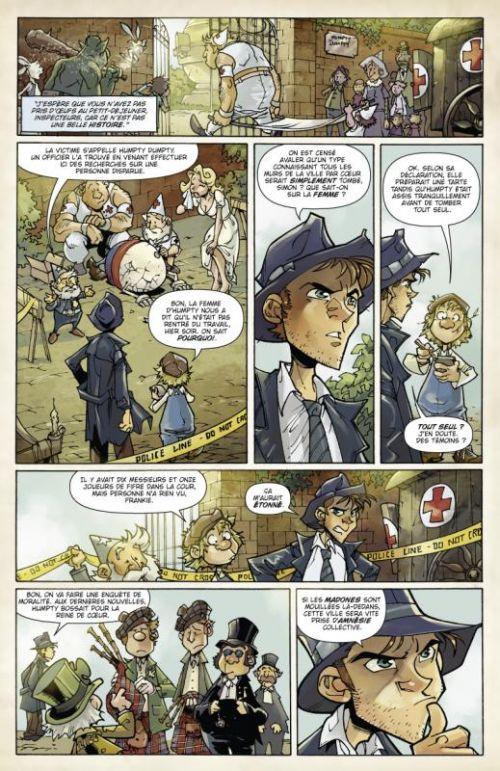 Fiction Squad T1, comics chez Glénat de Jenkins, Bachs, Paciarotti