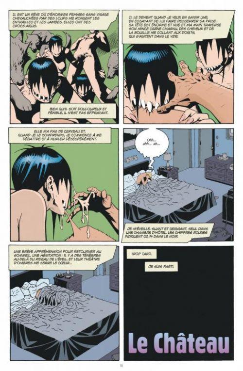 Sandman T6, comics chez Urban Comics de Gaiman, D'Israeli, Ormston, Brooker, Nowlan, Dillon, Case, Vess, Hempel, Kristiansen, Vozzo, McKean